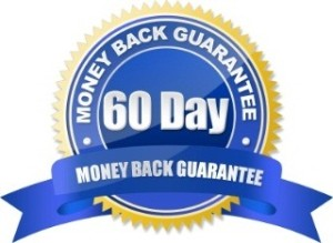 60 day money back guarantee
